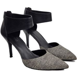 Nine West Snakeskin Embossed Dress Heels